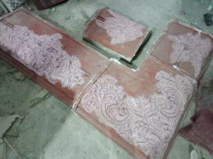 صناعة قوالب الجبس من السيليكون